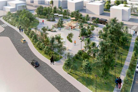 Новости: ВНур-Султане появится сквер сплощадкой для творчества