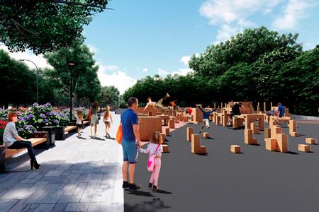 Новости: ВНур-Султане появится площадка для паркура