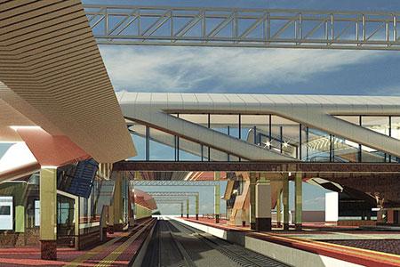 Новости: Как будет выглядеть вокзал Алматы-1 после реконструкции