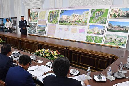 Новости: Градсовет Алматы одобрил проекты строительства трёхЖК имостачерезБАК