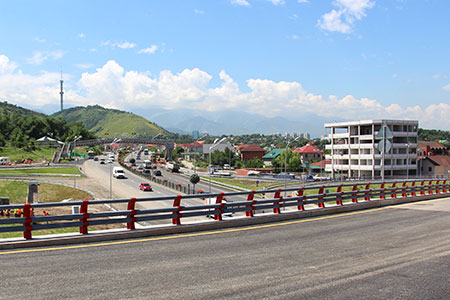 Статьи: Как дороги облегчат жизнь алматинцев