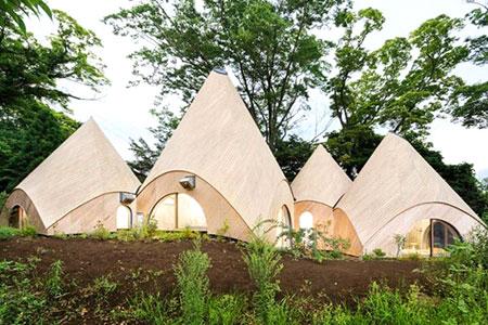 Новости: Дом для престарелых ввиде вигвама построили вЯпонии