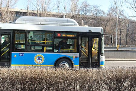 Новости: В Алматы внедрили новую систему мониторинга автобусов