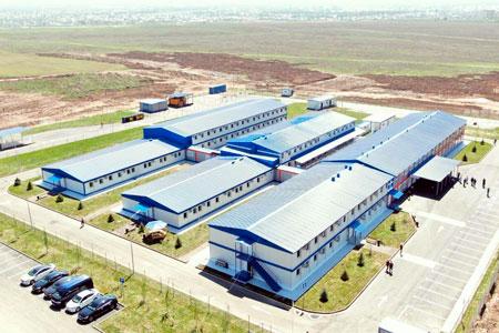Новости: ВАлматы открылся модульный госпиталь на280 мест
