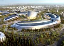 Новости: Президент одобрил архитектурный эскиз выставочного комплекса «ЭКСПО-2017»