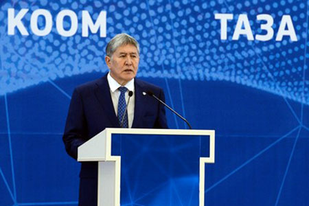 Новости: Атамбаев обЭКСПО: Если мыпотратилибы $3млрд навыставку, томенябысожгли