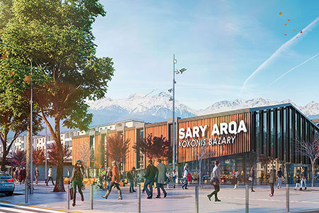 Новости: Как изменятся рынки «Сары-Арка» и«Арыстан» вАлматы после реконструкции