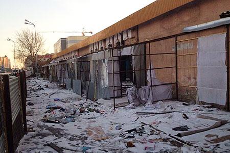 Новости: На месте пяти столичных торговых домов построят жильё