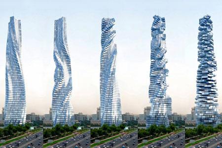 Новости: ВДубае к2020 году построят вращающийся на360° небоскрёб