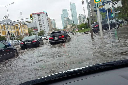 Новости: Власти пообещали избавить Астану от потопов