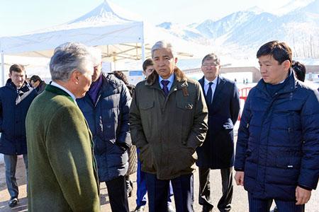 Тасмагамбетов запретил проводить стройработы наместе городищаТалхиз