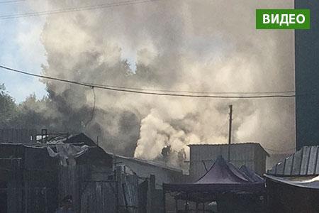 Новости: Алматинская барахолка снова горела