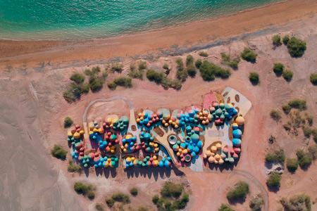 Новости: Наиранском острове появится цветной куполообразный комплекс для туристов