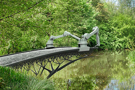 Новости: В Амстердаме создадут мост при помощи 3D-сварки (видео)