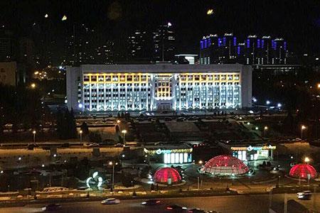 Новости: Энергосберегающая подсветка зданий появится вАлматы
