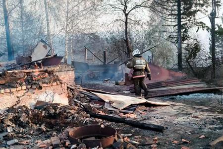 Новости: ВРиддере сгорело 35жилых домов