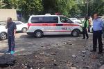 Новости: ВАлматы очередной гейзер пробил асфальт