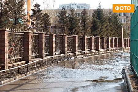 Новости: Астана тонет в грязи и лужах