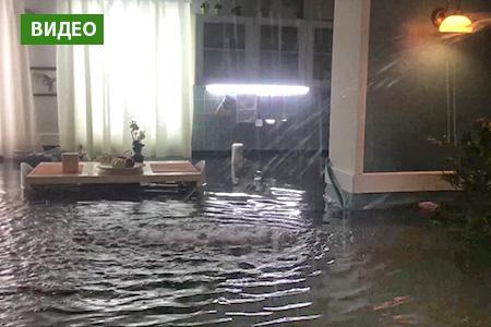 Новости: Шокирующие кадры потопа вквартире появились вСети