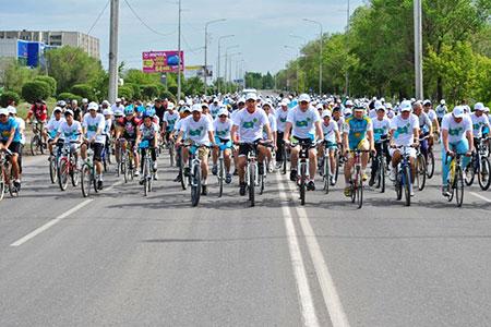 Новости: Сезон велопробегов откроется в Алматы 10 апреля
