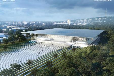 Новости: Выяснились новые подробности остроительстве конгресс-центра на«Атакенте»