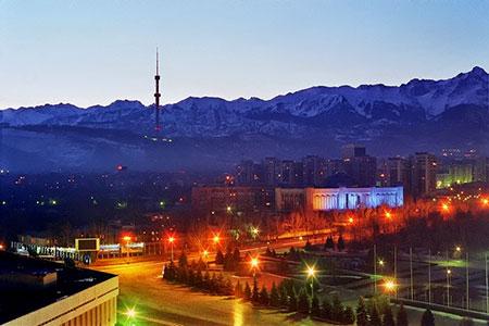 Новости: Освещение Алматы обошлось в 700 млн тенге