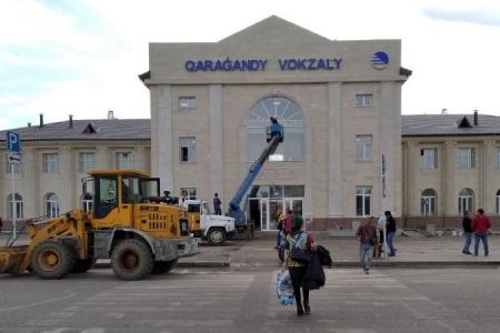 Новости: Исправить внешний вид ж/двокзала вКараганде поручил акимобласти