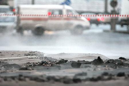 Новости: Авария натеплотрассе вАлматы привела котключению водоснабжения