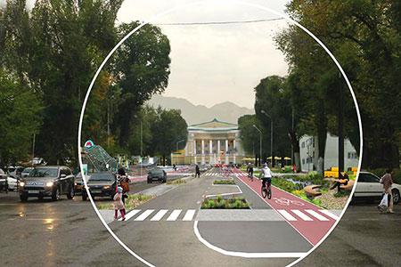 Новости: Алматы превратят вгород для людей попримеру Копенгагена