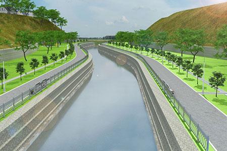 Новости: На набережной реки Есентай посадят четыре тысячи деревьев