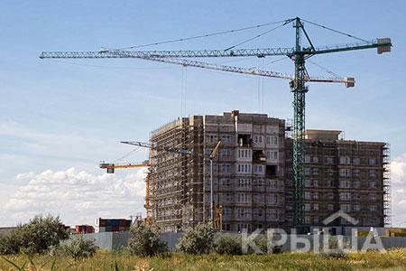 Новости: Сначала года настроительство жилья ушло более 700млрдтенге