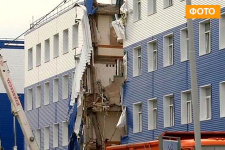 Новости: В Омске обрушилось здание казармы