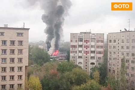 Новости: У«Соседей» сгорела крыша