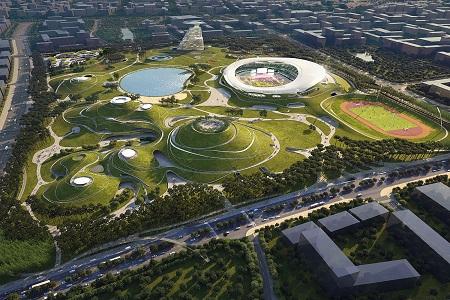 Новости: В Китае начали строить крупнейший в мире подземный стадион