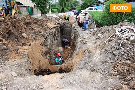 Новости: Из-за ошибки проектировщиков часть домов вмкр«Достык» может остаться без канализации