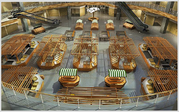ce3d6f8d7f6a Остальные торговые площади будут отданы под продажу строительных  материалов, мебели, бытовой техники, одежды и обуви. Проектом предусмотрена  организация ...