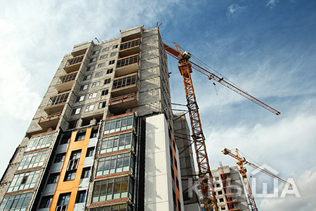 Новости: За полгода в РК построили почти 50 тысяч квартир
