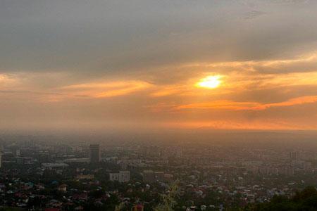 Новости: Презентована новая программа поулучшению качества воздуха Алматы