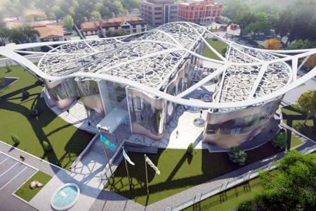 Новости: Несколько необычных зданий появится в Алматы
