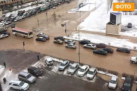 Новости: В Астане назвали причину потопа на левом берегу