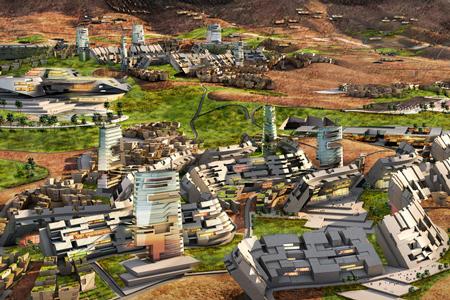 Новости: В пустыне построят блокчейн-город