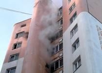 Новости: В одной из «целиноградских» высоток Астаны произошел пожар