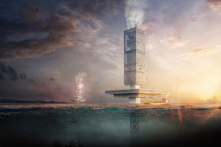 Новости: Очищающий воду небоскрёб может появиться вТихом океане
