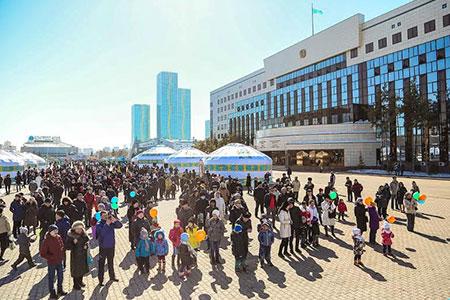 Новости: К Наурызу в столице подготовили около 70 праздничных мероприятий