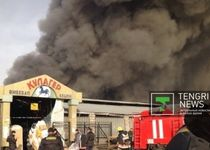Новости: ДЧС Алматы требовал закрыть сгоревшие рынки
