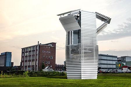 Новости: Новый способ очистки воздуха разработан вГолландии
