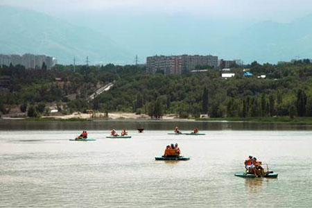Новости: Какие перемены ждут озеро Сайран вАлматы?