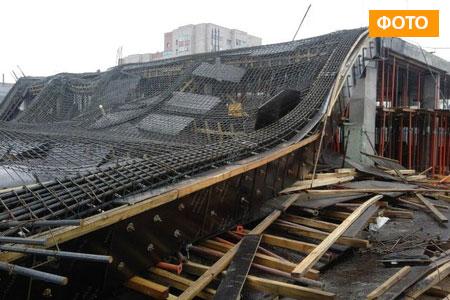 Новости: В Караганде рухнул недостроенный ТЦ