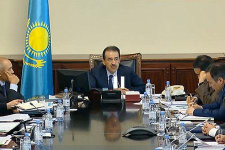 Новости: Бишимбаев: за полгода ввод в эксплуатацию жилых домов увеличился на 16.9 %