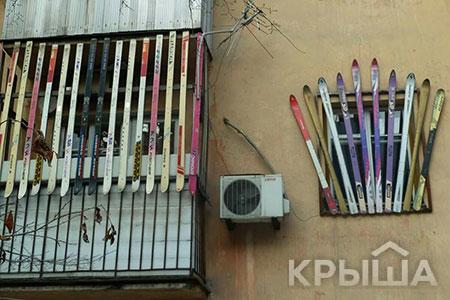 Новости: Остеклять балкон вАлматы можно будет только поединомустандарту